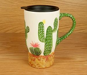 Naperville Cactus Travel Mug