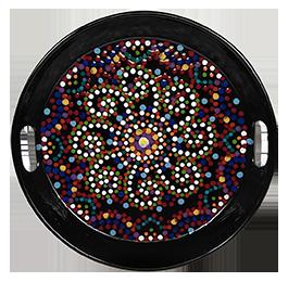 Naperville Mosaic Mandala Tray