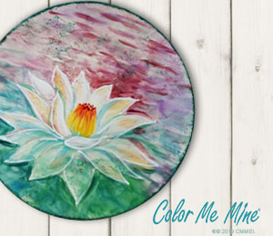 Naperville Lotus Flower Plate