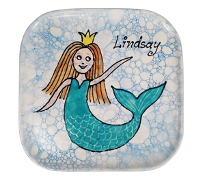Naperville Mermaid Plate