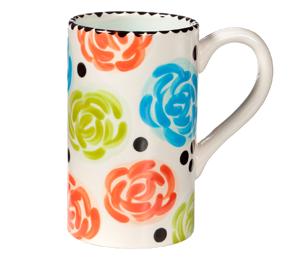 Naperville Simple Floral Mug