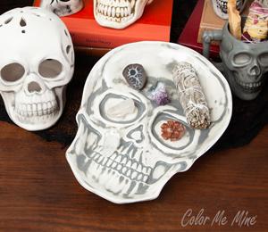 Naperville Vintage Skull Plate