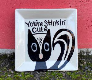 Naperville Skunk Plate