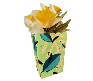 Naperville Leafy Vase