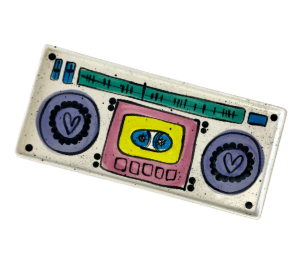 Naperville Boombox Tray
