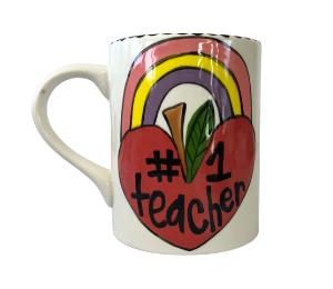 Naperville Rainbow Apple Mug